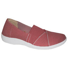 NEW Mars Red Elastic Shoe Leather Inner-sole Ladies Shoes Sizes 6,7,8,9,10,11,12