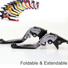 Folding Extendable Brake Clutch Levers For BMW R1200GS ADVENTURE (2006-2011) 10
