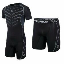 Men's Compression Sport Training Tight Pants Fitness Gym Exercise Racing Shorts