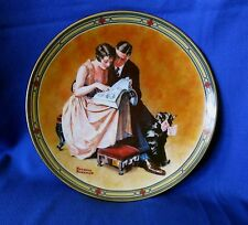 """""""A Couple's Commitment"""" 1985 Knowles Plate Norman Rockwell  Plate"""