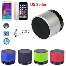Bluetooth Metal HiFi Handsfree Mic Bass Speaker For iPhone For Samsung US Stock