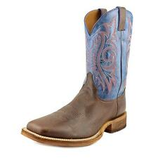 Justin Boots BR746 Men  Square Toe Leather Brown Western Boot