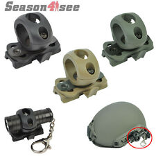 Tactical 1''/25.4mm Tube Helmet Flashlight Clamp Adaptor Holder for Fast Helmet