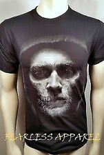 Sons Of Anarchy Jax Skull Face Samcro Biker Soa Motorcycle Reaper T Shirt S-3Xl