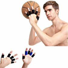 10PCS  Sports & Outdoors Arthritis Finger Support Sleeve Stretchy Protector