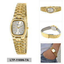 Casio Enticer Ladies Analog Watch Casual Gold Band LTP-1169N-7A