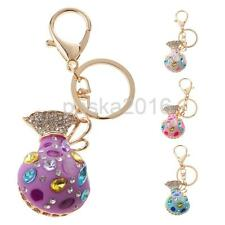 Opal Money Purse Key Chain Ring Keyring Keyfob Handbag Accessory Charm Pendant