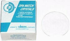 Lot of 10pcs Plastic Acrylic Low Dome Crystals 28.2mm to 32.4mm
