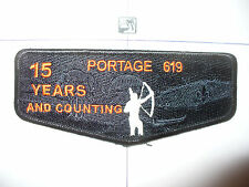 OA Portage Lodge 619,15th An,2011,Flap,Indian Glows In Dark,Ghost,121,205,513,OH