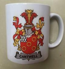 Your Family Coat of Arms Crest on Coffee CUP MUG - BUCK to BURY
