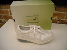 Joy Mangano White GetFit Lace-Up Sneakers Grasshoppers NEW