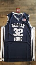 BYU Brigham Young University Jimmer Fredette Jersey Size XL Shanghai Sharks