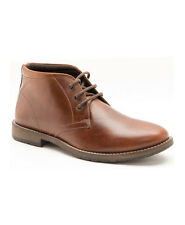 Red Tape Bexton Tan Mens Lace Up Leather Ankle Boots UK 7 - 12