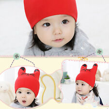 Cat Turtleneck Cap Keep Warm Winter Knitted Children's Cartoon Beanie Baby Hat
