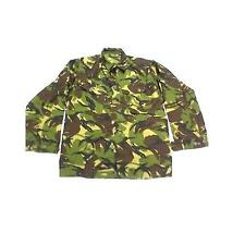 Camo Combat Shirt / Jacket Soldier British Army Issue Woodland DPM Shirts ~ Used