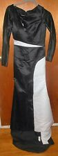 Nwt Womens Fashion Wedding Dresses Black/White Mermaid Beautiful Dress Ladies 4