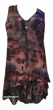 PRETTY ANGEL SIZE S, M, L, TWO PIECE DRESS / TOP IN NAVY / BROWN 69913BL NWT
