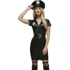 Fever Sexy Cop Adult WPC Ladies Womens Outfit Hen Party Fancy Dress Costume 1901