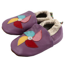 Baby Shoes 0-24M Soft Sole Leather Kids Shoes Infant Girl Toddler Moccasin Top