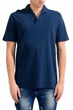 Malo Men's Navy Blue Short Sleeve Polo Shirt Size M L