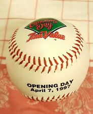 Milwaukee Brewers April, 7th 1997 Opening Day Baseball- Rawlings