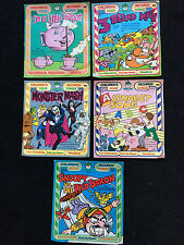 Lot of 5 Children's 45 RPM Vinyl Records With Picture Sleeves -  Peter Pan