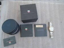 Tag Heuer Quartz Watch With 18k Rose Gold Bezel