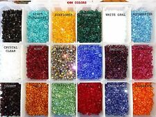 6mm Swarovski Crystal Xilion Bicone Beads 5328 - Mix your colors - US Shipper