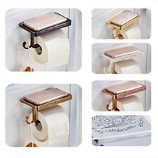 Wall Mounted Bathroom Toilet Paper Holder Rack Tissue Roll Stand New 6 Colors