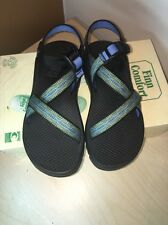 WOMENS CHACO SANDALS SIZE 8 HIKING WALKING VIBRAM SOLE MADE IN USA