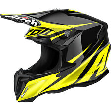 2016 AIROH TWIST FREEDOM YELLOW GLOSS MOTOCROSS HELMET