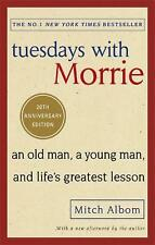 Tuesdays With Morrie by Mitch Albom Paperback Book