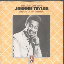 "JOHNNIE TAYLOR Who's Making Love 7"" VINYL UK Stax Vintage Soul From Stax"