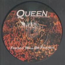 """QUEEN Friends Will Be Friends 7"""" VINYL UK Emi 1986 Limited Edition Pic Disc"""