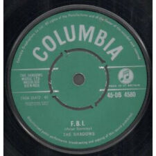 "SHADOWS F.B.I. 7"" VINYL UK Columbia 1961 B/W Midnight (45Db4580)"