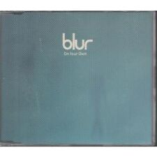 BLUR On Your Own CD UK Food 1997 4 Track Part 2 B/W Chinese Bomb Live, Moving