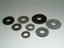 M7 Rubber Washers 7mm I/D to 8mm I/D-Choose from 9 different sizes, 20 Per Pack