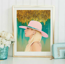 Lady Gaga Joanne Wall Art  | Lisa Jaye Art Designs