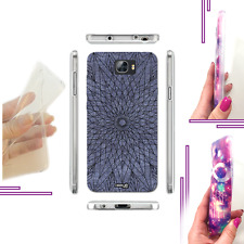 COVER EFFETTO JEANS WIREFRAME STAR PER HUAWEI Y6 2 COMPACT