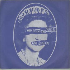 "SEX PISTOLS God Save The Queen 7"" VINYL UK Virgin 1977 A1/B1 Matrices. Blue"