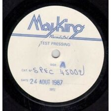 "MALCOLMS INTERVIEW Finer Points Of Feeling 7"" VINYL UK Mayking 1987 White Label"