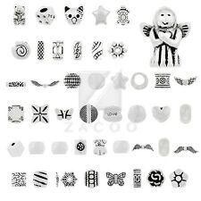 20-500pcs Tibetan Silver Spacer Loose Charm Metal Beads Jewelry Lots 50 Style