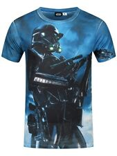 Star Wars Rogue One Death Pose All Over Print Men's White T-shirt