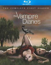 The Vampire Diaries: The Complete First Season (Blu-ray Disc, 2010, 4-Disc Set)