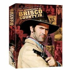 New! The Adventures of Brisco County Jr. Complete Series 8 DVD Boxset !