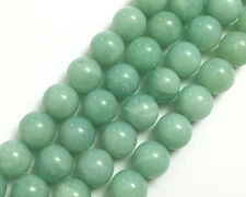 A Natural Green Amazonite Gemstone Beads Round Loose Stone Beads 4,6,8,10,12mm