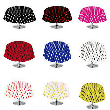 Polka Dot Round Tablecloth by Florida Tablecloth Factory