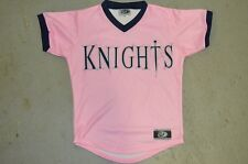 YOUTH Charlotte Knights PINK MiLB Vintage Throwback Minor League Baseball Jersey