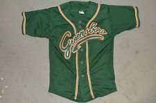 YOUTH Greensboro Grasshoppers GREEN MiLB Throwback Minor League Baseball Jersey