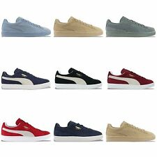 PUMA SUEDE CLASSIC TRAINERS - BLACK, BURGUNDY, BLUE FOG, RED AND MANY MORE